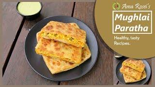 Mughlai Paratha Recipe in Odia | ମୁଘଲାଇ ପରଟା | Moglai Paratha in Odia - Ama Rosei