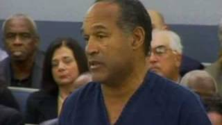 O.J's Emotional Plea