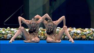 Все выступления дуэта Ромашина Колесниченко на Олимпиаде 2020 в синхронном плавании