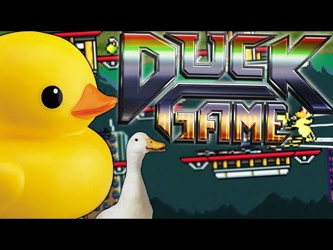 HOW DARE YOU QUACK AT ME LIKE THAT - DUCK GAME