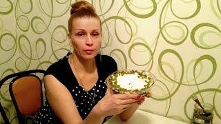 Салат из морской капусты с картошкой на праздничный стол