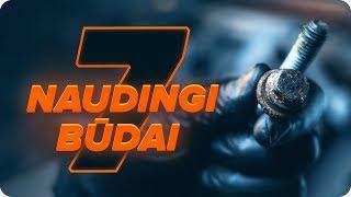 Stabdžių Kaladėlės keitimas AUDI Q5 - techninės priežiūros patarimai
