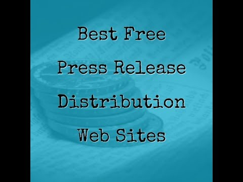 Top 3 Free Press Release Distribution Sites