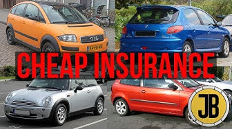 Top 10 CHEAPEST First Cars With CHEAP INSURANCE For 17-Year-Olds & Students (UNDER £1,000)