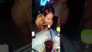 O Femeie care stie sa bea