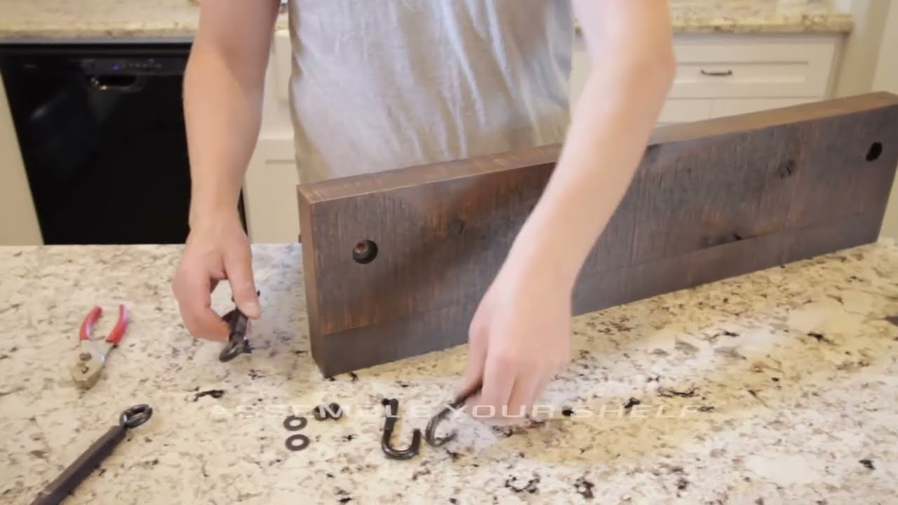 How to Install Turnbuckle ShelvesDIY  YouTube