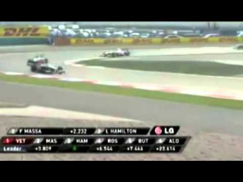 F1 2011 Rd3 Chinese GP   Highlights