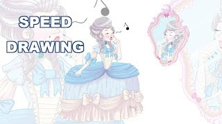Speed Drawing - Rococo