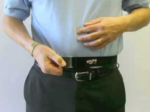 48495ff0ded How to wear a Sticky Belt - YouTube