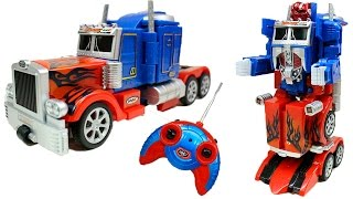 Transforming Birthday Cake - Optimus Prime