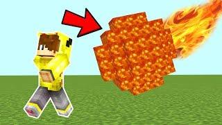 DEV LAV METEOR DÜNYAYI YOK EDİYOR! - Minecraft