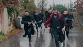 مسلسل الحفرة الجزء الأول مشهد فارتولو ينقذ عائلة ادريس