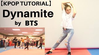 【Kpop Tutorial】#Dynamite by #BTS (second chorus 8×8) / Arizona Kpop Dance Workshop
