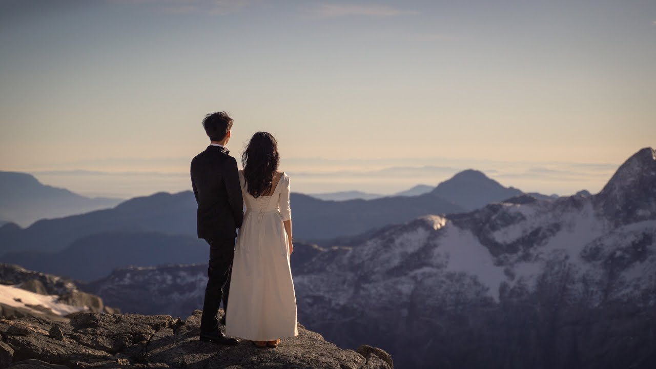 Autumn Squamish Helicopter Elopement | Yi & Qiao | Teaser