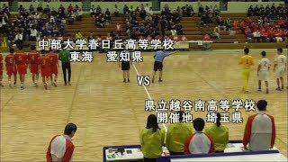 ハンドボール 2019全国選抜 中部大春日丘VS越谷南