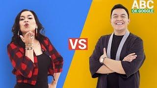 #SelaluTauMusik: Tulus vs Melaney Ricardo main ABC OK Google