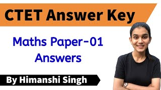 CTET-2019 Answer Key | Mathematics | Paper-01 | Let's LEARN