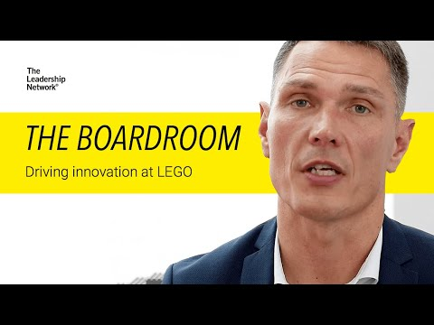 The Boardroom - Leading the LEGO Way with Jesper Vilstrup