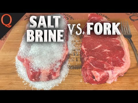 What's the BEST Way To Tenderize Steak? | Ft. Kosmos Q