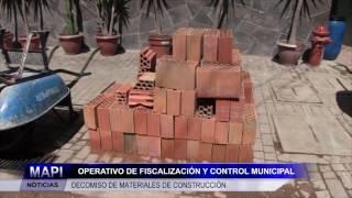DECOMISO DE MATERIALES DE CONSTRUCCIÓN AV.  IMPERIO DE LOS INCAS DE MACHUPICCHU