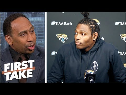 Stephen A. to Jalen Ramsey: 'If you're gonna talk, talk!' | First Take