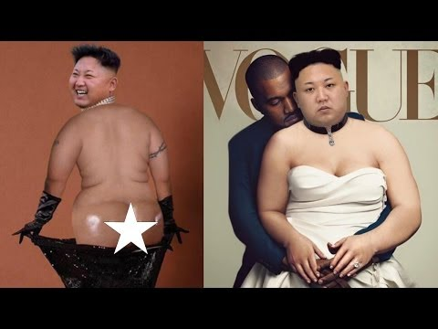 笑える   面白   インターネットで面白いキムジョンンフォトショップイメージ