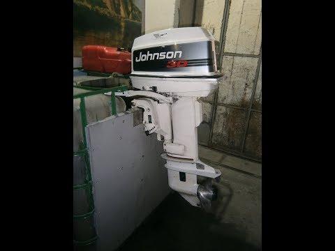 Джонсон-30(25/35)BRP - работа на стенде.