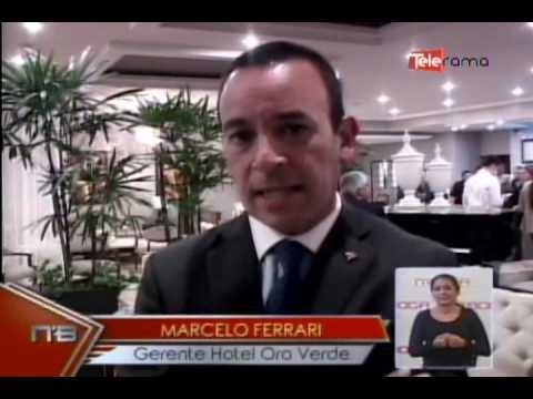 Hotel Oro Verde de Cuenca develiza placas
