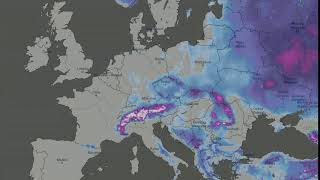 Snow cover - Europe 2019