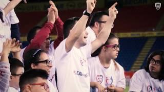 I rossoblù per la Giornata Nazionale delle persone con sindrome di Down 2019