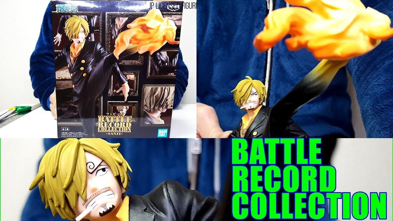 Banpresto Figure F//S Bandai One Piece Battle Record Collection-Sanji