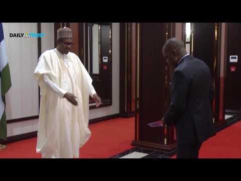 Buhari receives new ambassadors of Togo, Burundi, Vietnam