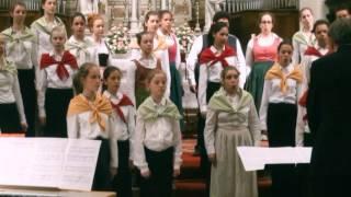 Coro Calicantus-La mia stella-compositore Ivo Antognini