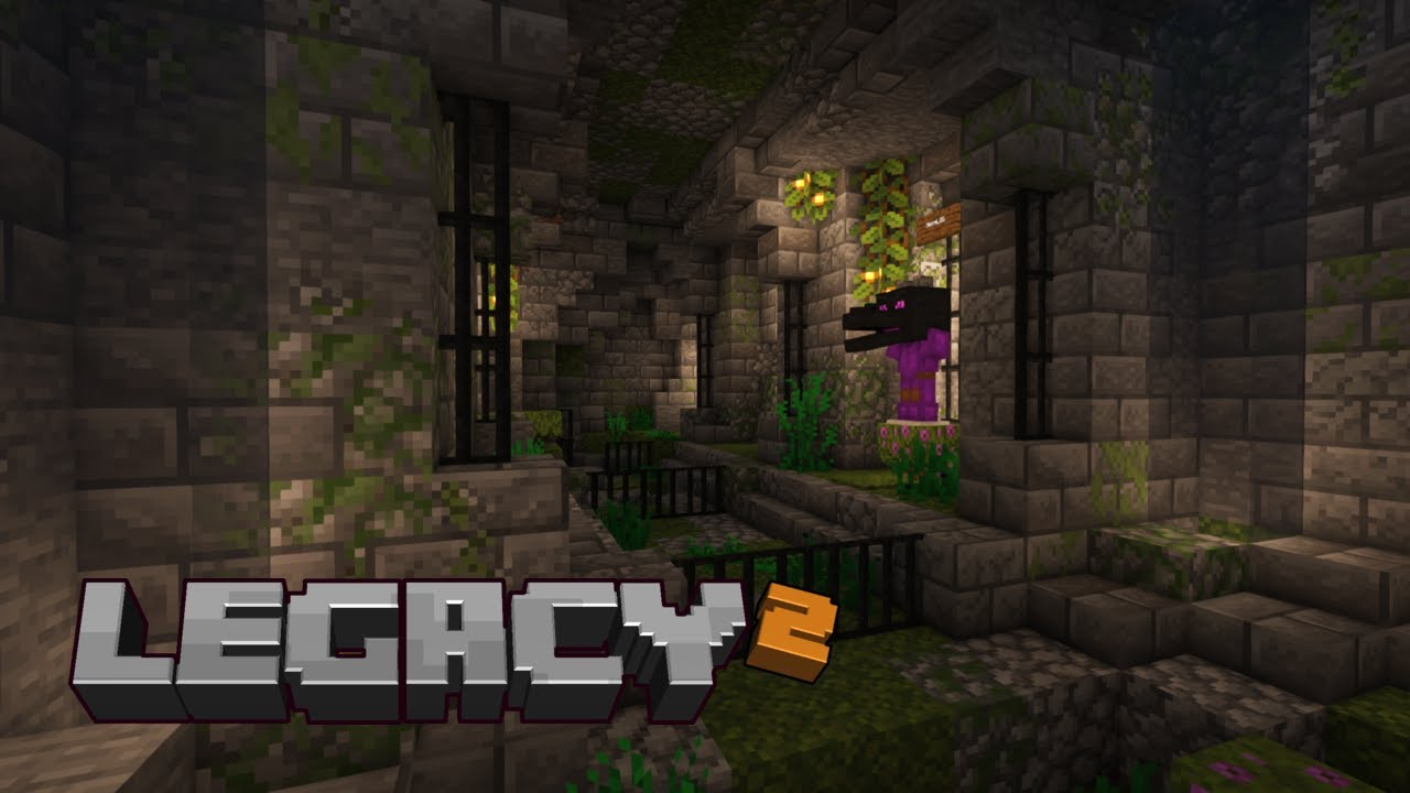 Legacy SMP Season 2: Episode 26 Sewers and ghosts!