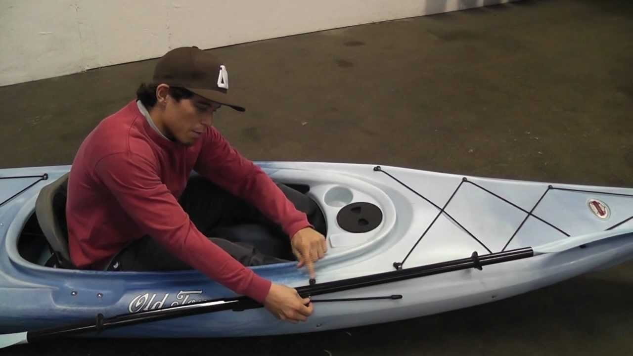 Old Town Customer Service Tip of the Day - How to use your Paddle Keeper