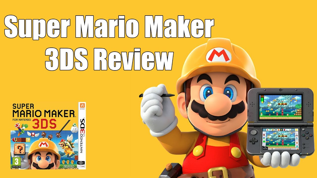Download Super Mario Maker 3DS Review