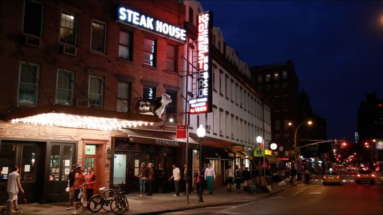 Welcome To Old Homestead Steakhouse Est 1868 Youtube