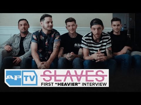 "SLAVES Announce New Lineup, Talk New ""Heavier"" Song,  FIRST New Era Interview 