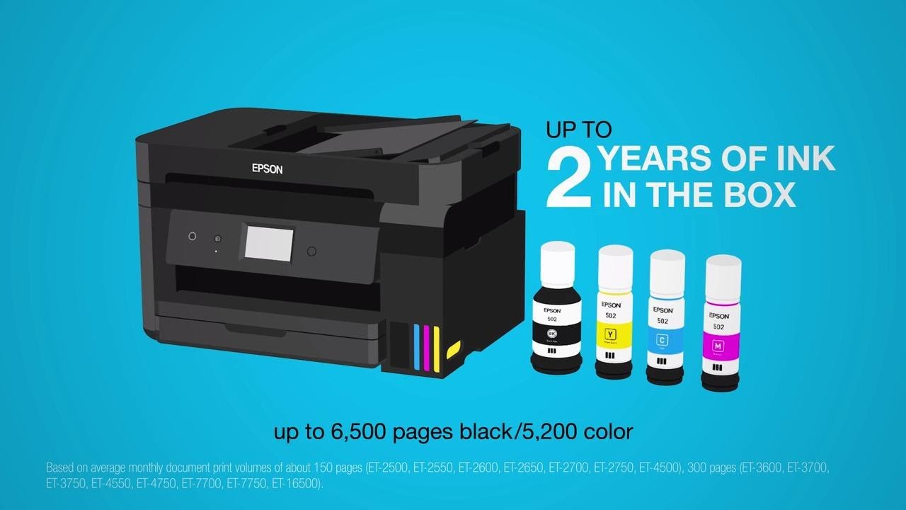 Epson EcoTank Supertank Printers | Take the Tour