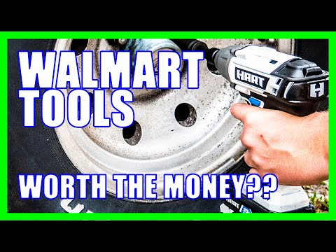 How Good Are They? Hart Tools at Walmart [ATTENTION WALMART SHOPPERS]