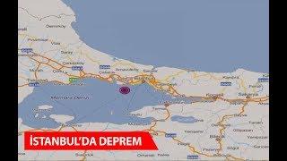 İstanbul'da 4,6 Büyüklüğünde Deprem Meydana Geldi