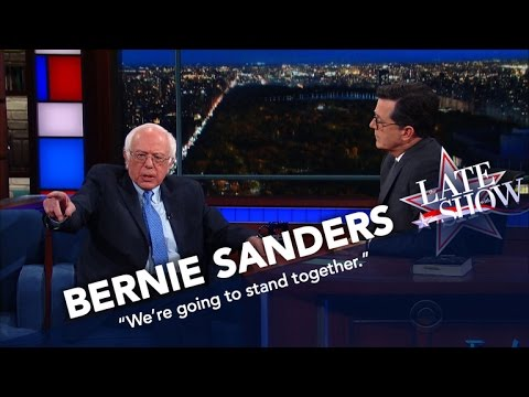 Bernie Sanders: Now More Than Ever, It