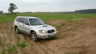 Subaru Forester SG 4cm lift kit (~1 5') in off-road
