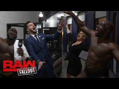 Titus Worldwide are future champions: Raw Fallout, Jan. 8, 2018