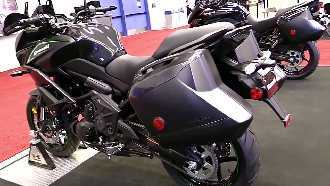 2018 kawasaki versys 650 sc premium features edition first. Black Bedroom Furniture Sets. Home Design Ideas
