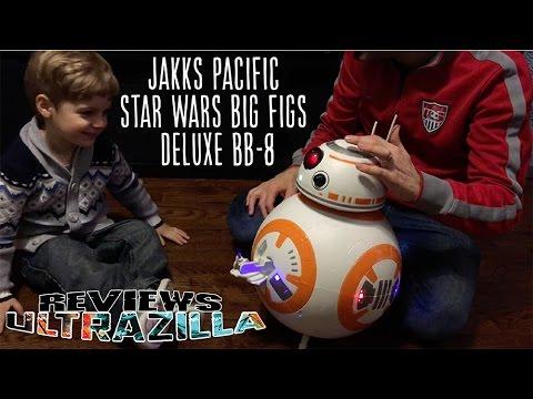 ultrazilla reviews jakks pacific star wars big figs deluxe bb 8 youtube. Black Bedroom Furniture Sets. Home Design Ideas