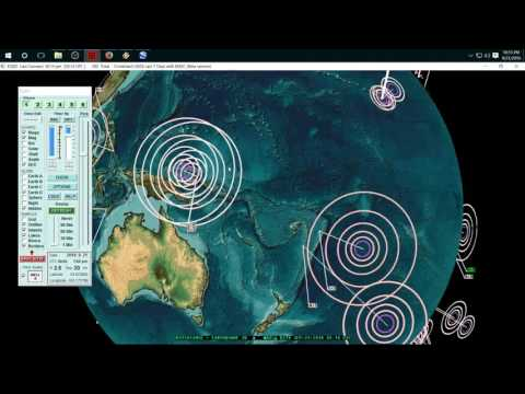 9/21/2016 -- New Earthquake Forecast Areas -- West Coast, Japan, Asia, Europe