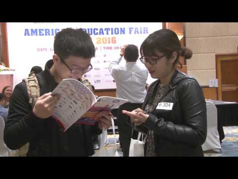 AAE Education USA Spring Fair 2016 Hanoi