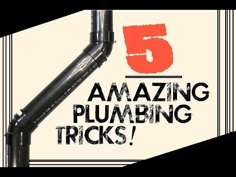 5 AMAZING PLUMBING TRICKS! | GOT2LEARN