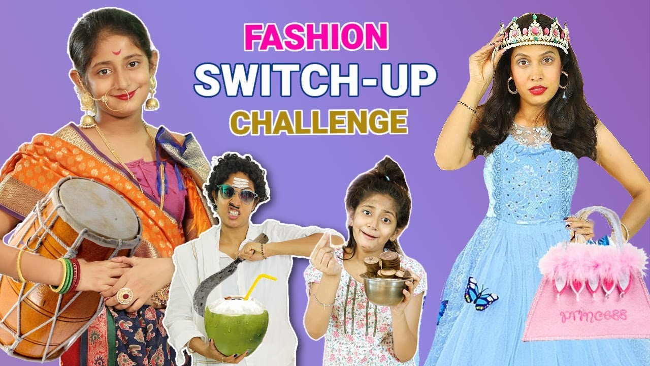 DARE Fashion SWITCH Up Challenge | MyMissAnand